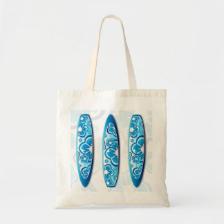 Tabla hawaiana maravillosa con un diseño floral bolsa tela barata