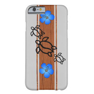 Tabla hawaiana retra de Honu Funda Para iPhone 6 Barely There