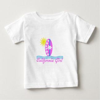 Tabla hawaiana W/Sun del rosa del chica de Tshirt