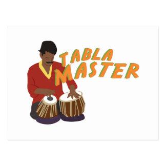 Tabla Master Postcard
