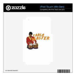 Tabla Master Skins For iPod Touch 4G