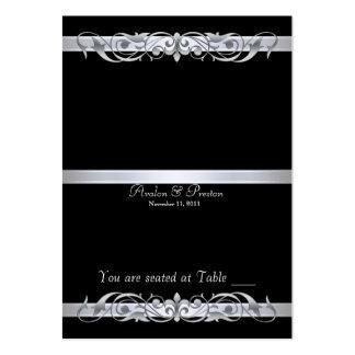Tabla negra Placecard de la grande duquesa Tarjetas De Visita Grandes