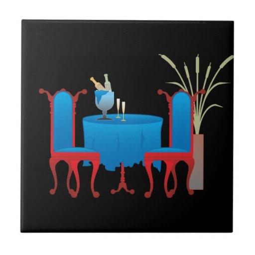 Tabla para la baldosa cerámica dos azulejo cuadrado pequeño