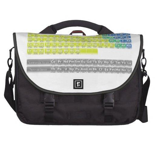 Tabla periódica bolsas de portátil