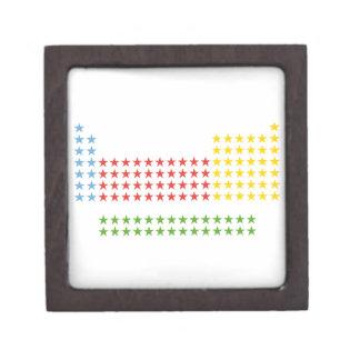 Tabla periódica cajas de joyas de calidad