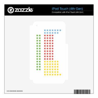Tabla periódica calcomanías para iPod touch 4G