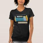 Tabla periódica de camiseta de la oscuridad del ab