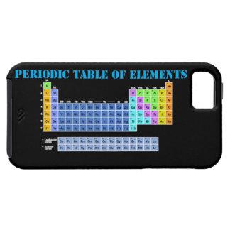 Tabla periódica de caso del iPhone 5 de los elemen iPhone 5 Case-Mate Protectores