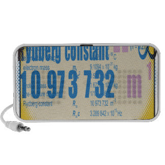 Tabla periódica de Oxygentees Altavoz De Viaje