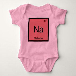 Tabla periódica del elemento conocido de la body para bebé