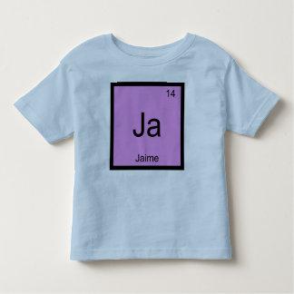 Tabla periódica del elemento conocido de la tshirts