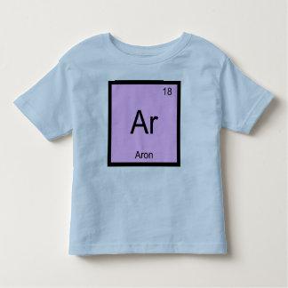Tabla periódica del elemento conocido de la t-shirt