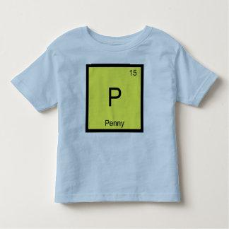 Tabla periódica del elemento conocido de la playeras