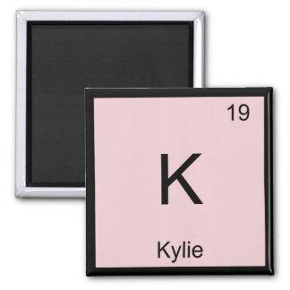 Tabla periódica del elemento conocido de la químic imán para frigorifico
