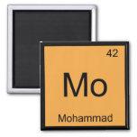 Tabla periódica del elemento conocido de la químic iman para frigorífico