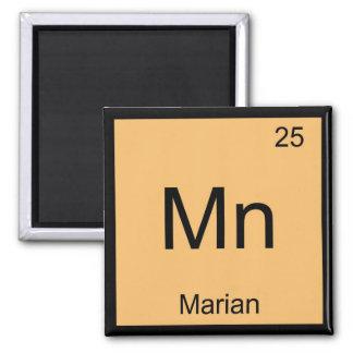 Tabla periódica del elemento conocido mariano de l iman