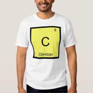 Tabla periódica del elemento de la química del playera