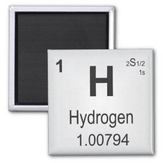 Tabla periódica del imán del hidrógeno de elemento