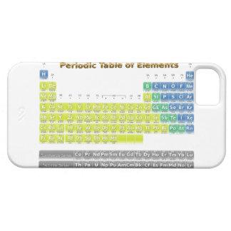 Tabla periódica iPhone 5 Case-Mate carcasa