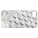 Tabla periódica iPhone 5 carcasa