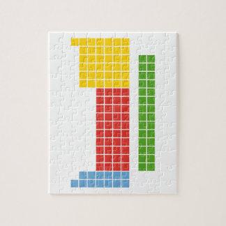 Tabla periódica puzzle con fotos