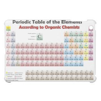 tabla periódica según iPad orgánico de los