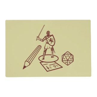 Tabla Placemat del RPG Salvamanteles