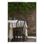tabla romántica para dos tarjeta de felicitación