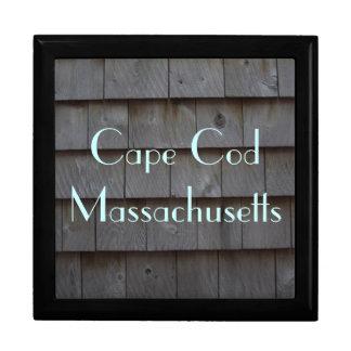 Tablas de Cape Cod adaptables Joyero Cuadrado Grande