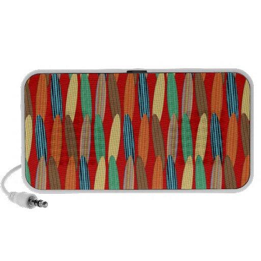 Tablas hawaianas adaptables iPod altavoz