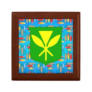 Tablas hawaianas de Kanaka Maoli Caja De Joyas