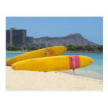 Tablas hawaianas de Moana del Ala Tarjetas Postales