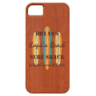 Tablas hawaianas del Hawaiian del monograma del iPhone 5 Case-Mate Protector