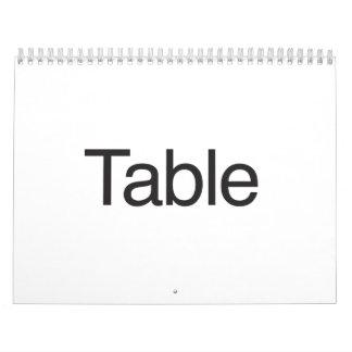 table.ai calendar