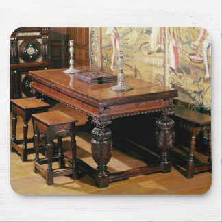 Table and chairs, known as Bromley-by-Bow Mouse Pad