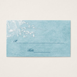 TABLE ASSIGNMENT CARDS - BLUE ELEGANCE COLLECTION