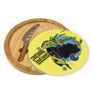 Table Beat- cheese Sketcher Cheese Platter