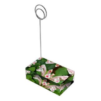 Table Card Holder - Pink Skullcap