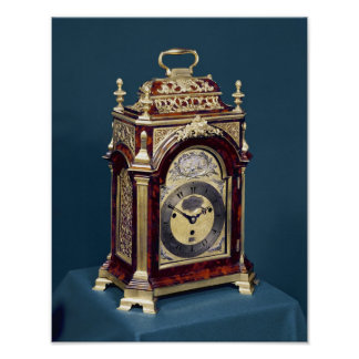 Table clock, c.1750 poster