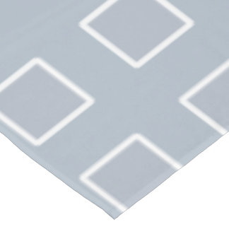 Table Cloth in Blue and White Grid Pattern