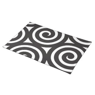 TABLE CLOTH SPIRAL PLACEMAT