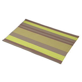 Table cloth Table stripped Placemats