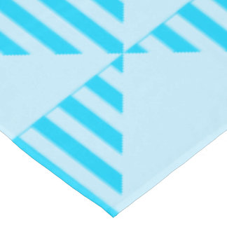 Table Cloth, Turquoise Colored Triangle Design Tablecloth