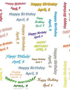 9 April Birthday Gifts On Zazzle