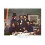 Table Corner, Coin De Table By Fantin-Latour Henri Postcard