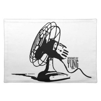 Table Fan Cloth Placemat