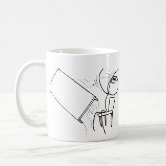 Table Flip Flipping Rage Face Meme Coffee Mug