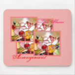 Table Flower Arrangement for Anniversary Mouse Pad