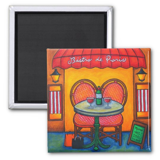 Table for Two in Paris Magnet