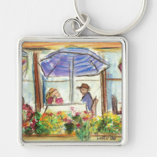 Table for Two Keychain (Pike Place Seattle)